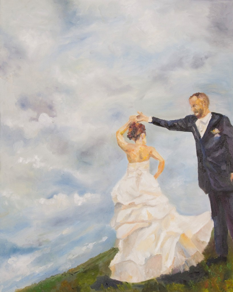 new offering � oil on canvas wedding paintings artistic